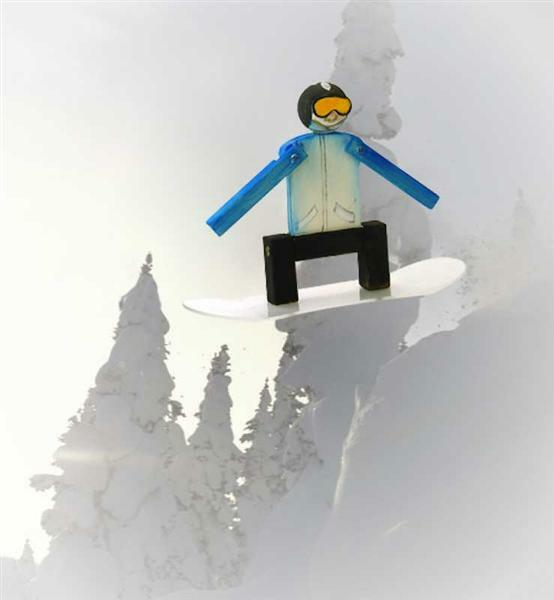 Power Hans - snowboarder