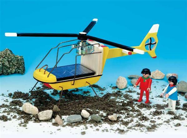 Hout helikopter Toy spijker schroef en Paint gratis gemaakt