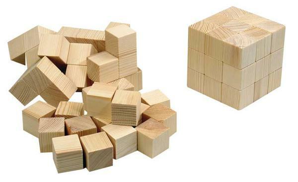 Soma kubus - Bouwpakketten  Van 7 tot 12 jaar