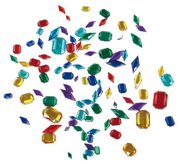 Sierstenen - 370 stuks/pak, Diamanten & octagon - Papier en karton ...