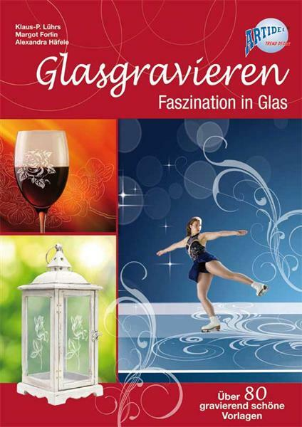 Boek - Glas graveren - instructies en patronen