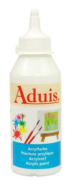 Aduis acrylverf - 250 ml, wit