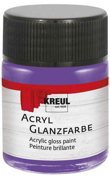 Acryl glansverf - 50 ml, violet