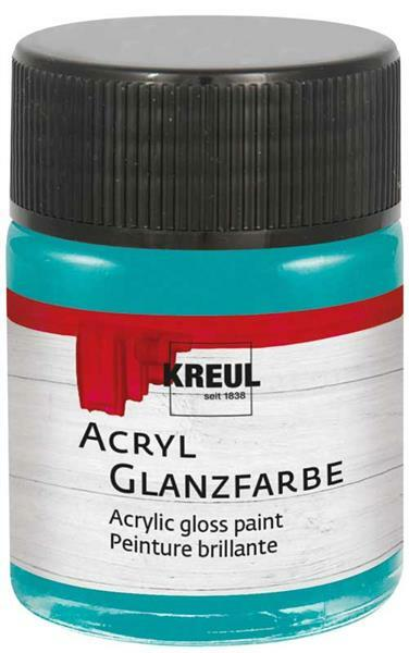 Acryl glansverf - 50 ml, turkoois