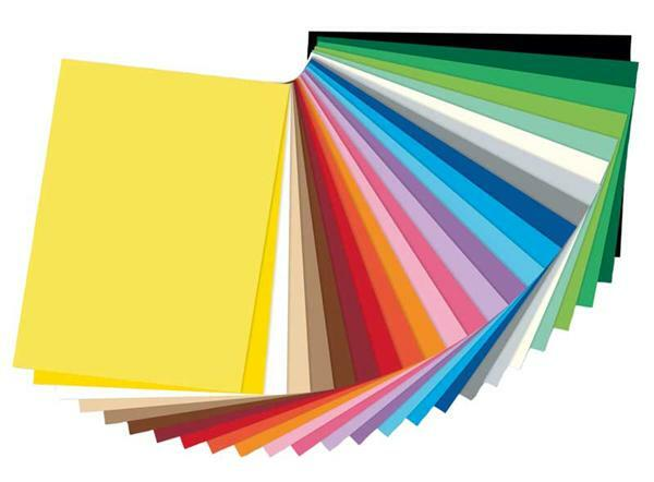gekleurd tekenpapier 50 x 70 cm 25 vel papier en karton divers papier tekenpapier. Black Bedroom Furniture Sets. Home Design Ideas