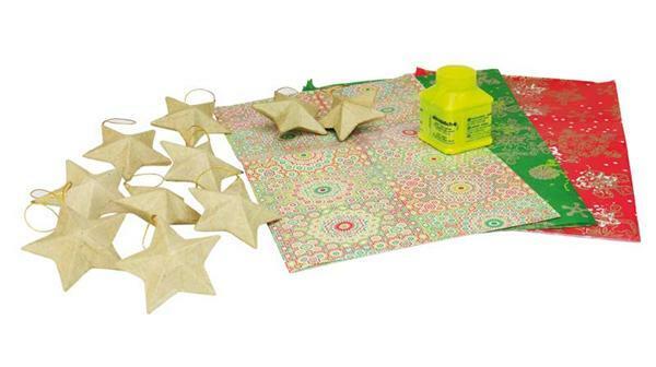 D copatch set kerstmis papier en karton d copatch for Decopatch papier