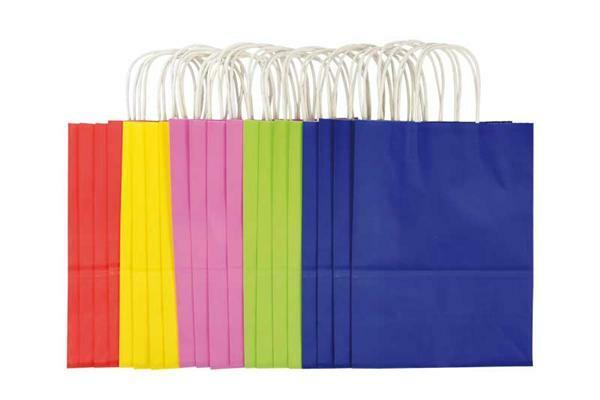 De Papieren Zak : Papieren zakken gekleurd stuks l online kopen aduis