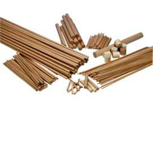 rondhout 8 mm 10 st pak 50 cm op maat gezaagd op maat gezaagd hout rondhout uit beuken. Black Bedroom Furniture Sets. Home Design Ideas