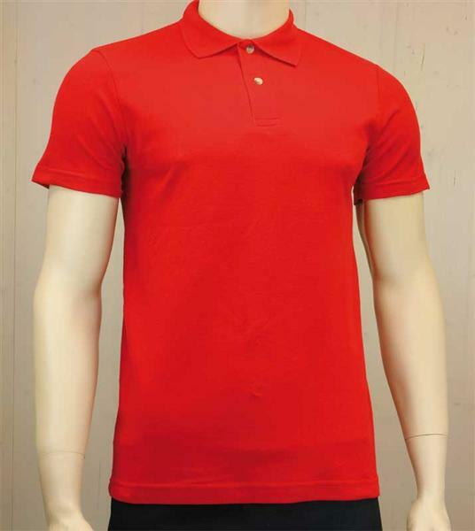 Poloshirt voor man - rood, L