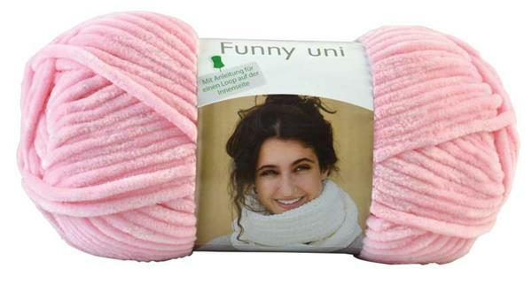 Wolle Funny color - 100 g, pastelroze