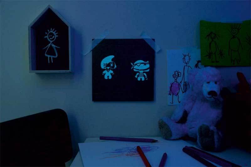 Mucki Glow In The Dark Verf Lichtblauw Online Kopen Aduis