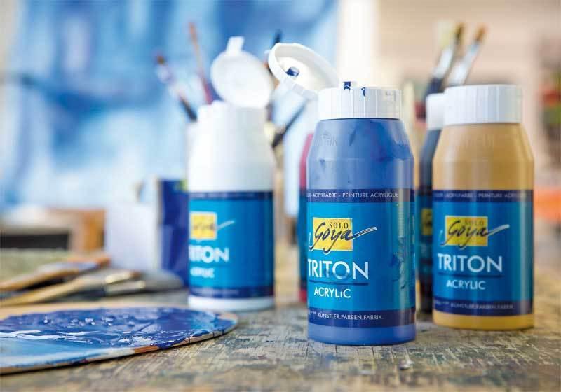 Gebroken Wit Verf : Triton acrylic univ. verf 750 ml gebroken wit online kopen aduis