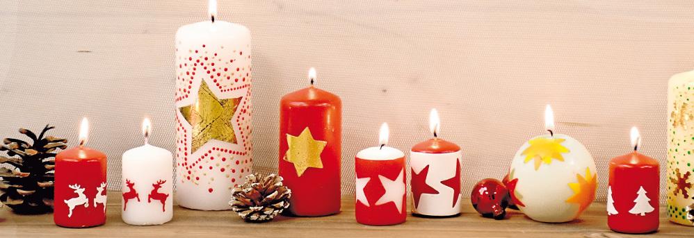 Kaarsen Beschilderen Met Acrylverf.Kaarsen Versieren Online Kopen Aduis