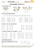Lernstübchen Umkehraufgaben  Merkplakat  Mathematik