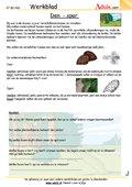 planten en bomen werkbladen biologie